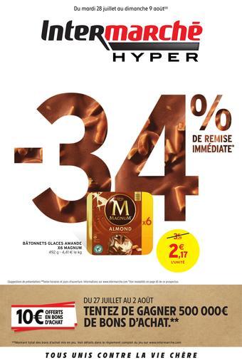 Intermarché Express catalogue publicitaire (valable jusqu'au 09-08)