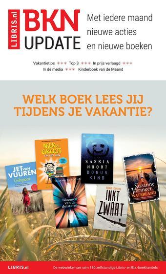 Libris reclame folder (geldig t/m 23-08)