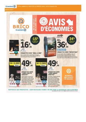 E.Leclerc Brico catalogue publicitaire (valable jusqu'au 08-08)