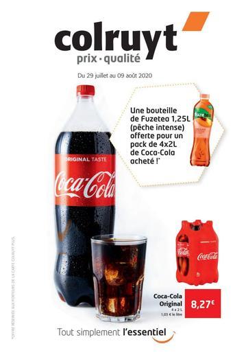 Colruyt catalogue publicitaire (valable jusqu'au 09-08)