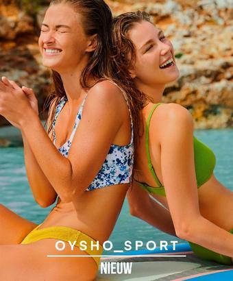 Oysho reclame folder (geldig t/m 26-09)