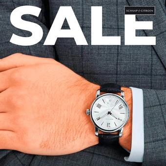 Schaap en Citroen Juweliers reclame folder (geldig t/m 31-08)
