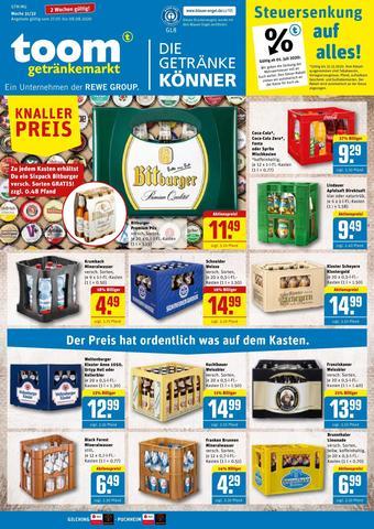 toom Getränkemarkt Prospekt (bis einschl. 08-08)