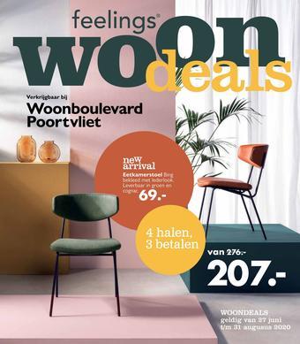 Woonboulevard Poortvliet reclame folder (geldig t/m 31-08)