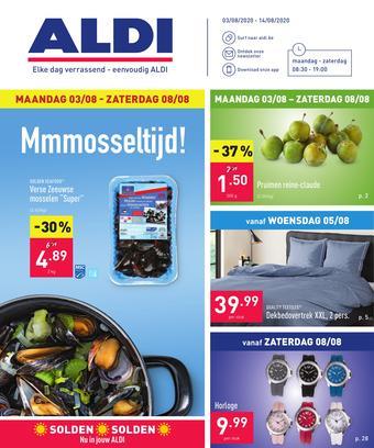 ALDI reclame folder (geldig t/m 14-08)