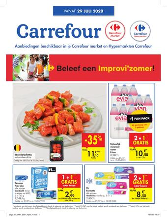 Carrefour Market reclame folder (geldig t/m 10-08)