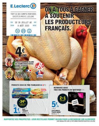 E.Leclerc catalogue publicitaire (valable jusqu'au 08-08)