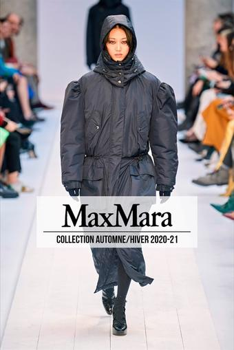 Max Mara catalogue publicitaire (valable jusqu'au 27-09)