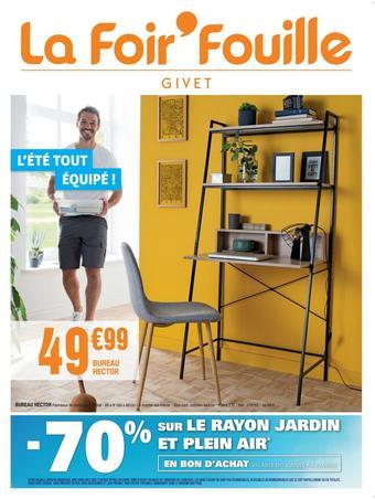 La Foir'Fouille catalogue publicitaire (valable jusqu'au 09-08)