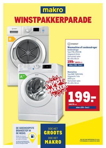 Makro reclame folder (geldig t/m 11-08)