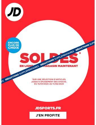 JD Sports catalogue publicitaire (valable jusqu'au 11-08)