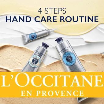 L'Occitane reclame folder (geldig t/m 31-08)