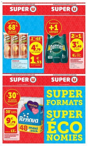 Super U catalogue publicitaire (valable jusqu'au 08-08)