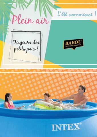 Babou catalogue publicitaire (valable jusqu'au 05-08)