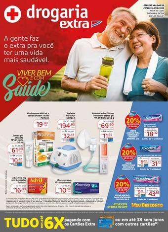 Drogaria Extra catálogo promocional (válido de 10 até 17 31-08)