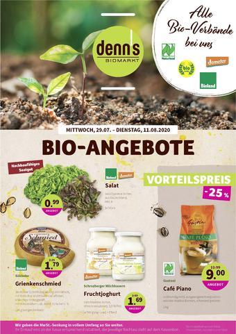 denn's Biomarkt Prospekt (bis einschl. 11-08)