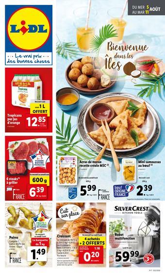 Lidl catalogue publicitaire (valable jusqu'au 11-08)