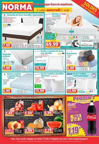 Norma catalogue publicitaire (valable jusqu'au 11-08)