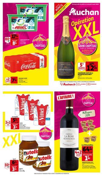 Auchan reclame folder (geldig t/m 08-08)
