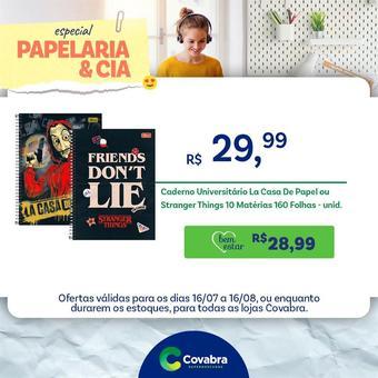 Covabra Supermercados catálogo promocional (válido de 10 até 17 16-08)