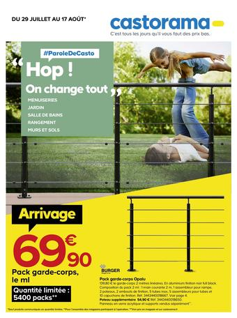Castorama catalogue publicitaire (valable jusqu'au 17-08)