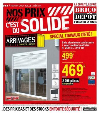 Brico Dépôt catalogue publicitaire (valable jusqu'au 20-08)