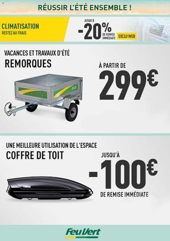 Feu Vert catalogue publicitaire (valable jusqu'au 05-08)