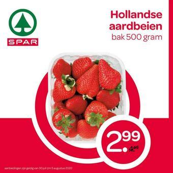 Spar reclame folder (geldig t/m 05-08)