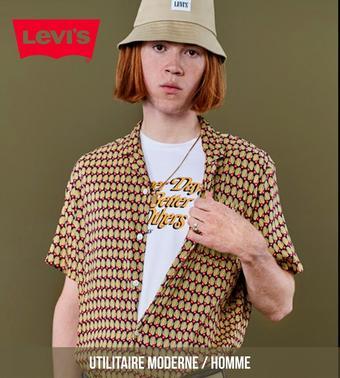 Levi's catalogue publicitaire (valable jusqu'au 29-09)
