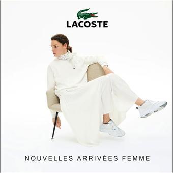 Lacoste catalogue publicitaire (valable jusqu'au 27-09)