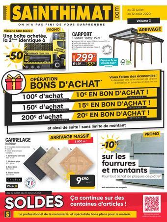 Sainthimat catalogue publicitaire (valable jusqu'au 12-08)