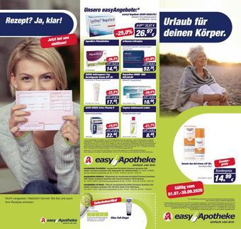 Easy Apotheke Prospekt (bis einschl. 30-09)