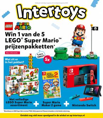 Intertoys reclame folder (geldig t/m 16-08)