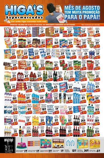 Higa's Supermercado catálogo promocional (válido de 10 até 17 07-08)
