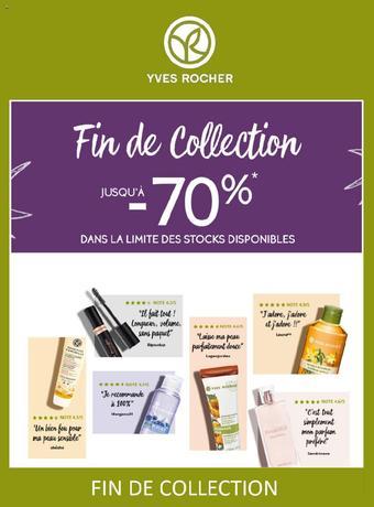 Yves Rocher catalogue publicitaire (valable jusqu'au 31-08)