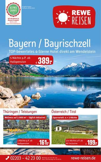 REWE Reisen Prospekt (bis einschl. 28-08)