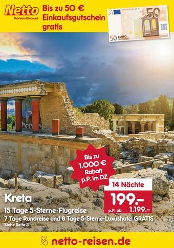 Netto Reisen Prospekt (bis einschl. 31-08)