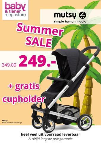 Baby & Tiener reclame folder (geldig t/m 08-08)