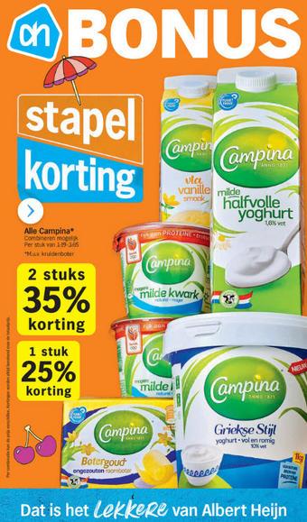 Albert Heijn reclame folder (geldig t/m 09-08)