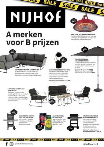 Nijhof reclame folder (geldig t/m 09-08)