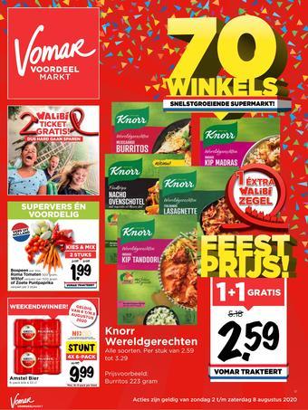 Vomar reclame folder (geldig t/m 08-08)