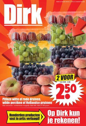 Dirk reclame folder (geldig t/m 08-08)