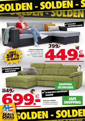 Seats and Sofas reclame folder (geldig t/m 09-08)