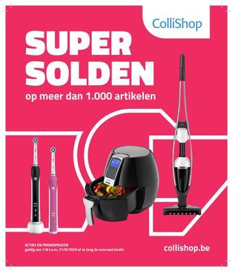 ColliShop reclame folder (geldig t/m 31-08)