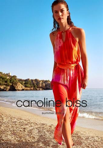 Caroline Biss reclame folder (geldig t/m 31-08)