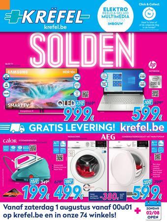 Krëfel reclame folder (geldig t/m 31-08)