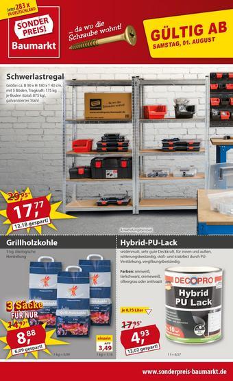 Sonderpreis Baumarkt Prospekt (bis einschl. 07-08)