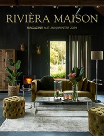 Rivièra Maison reclame folder (geldig t/m 31-03)