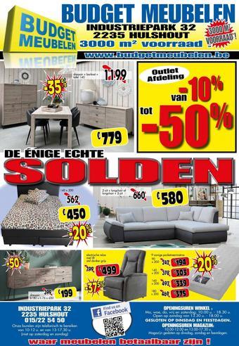 Budget Meubelen reclame folder (geldig t/m 31-08)