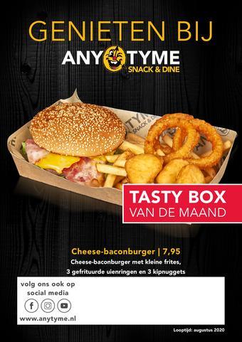 AnyTyme reclame folder (geldig t/m 31-08)